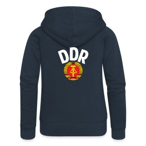 DDR - German Democratic Republic - Est Germany - Frauen Premium Kapuzenjacke