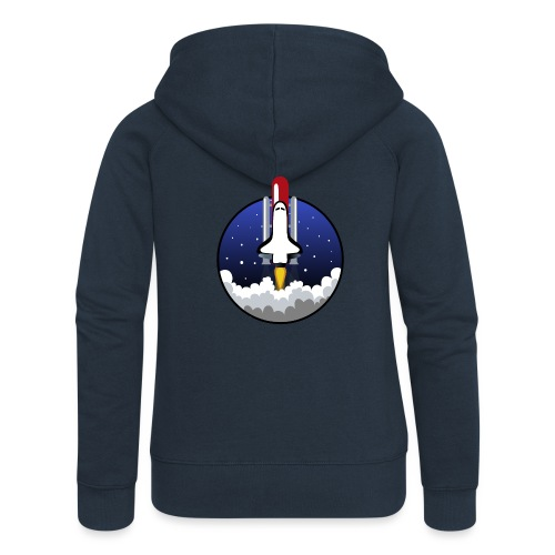 The Space Shuttle - Women's Premium Hooded Jacket