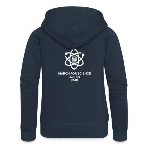 March for Science Aarhus 2018 - Women's Premium Hooded Jacket