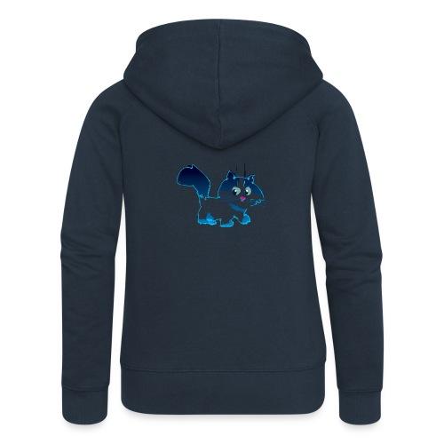 Blue Cat - Veste à capuche Premium Femme