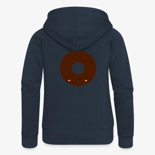 Happy Doughnut - Women's Premium Hooded Jacket