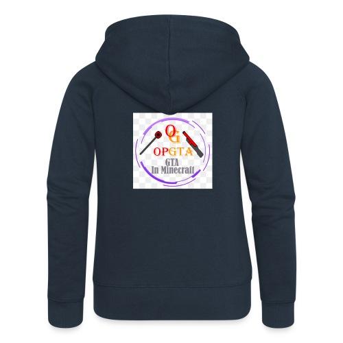 opgta logo - Naisten Girlie svetaritakki premium