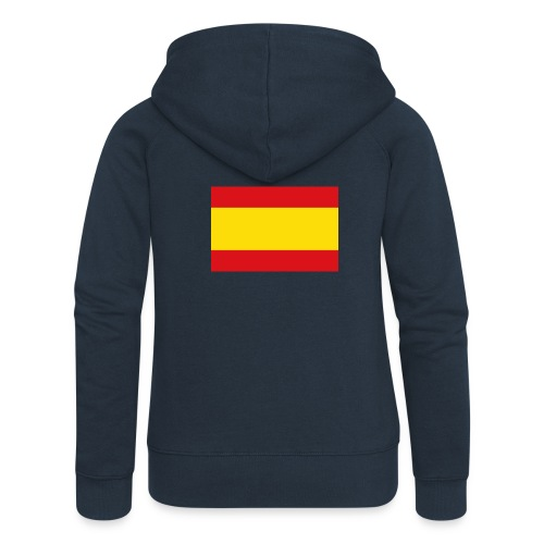 vlag van spanje - Vrouwenjack met capuchon Premium