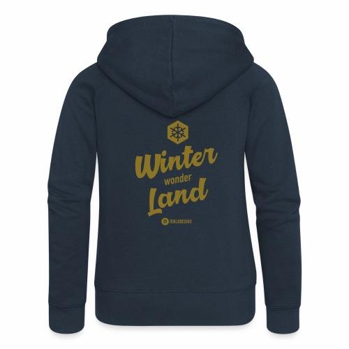 Winter Wonder Land - Naisten Girlie svetaritakki premium