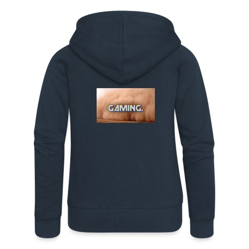 GamingDust LOGO - Women's Premium Hooded Jacket