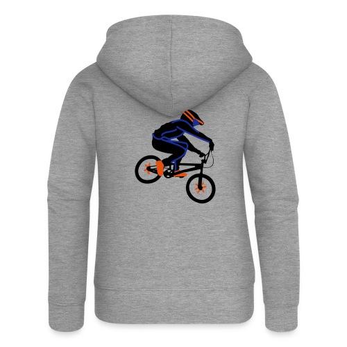 BMX Rider Dark - Vrouwenjack met capuchon Premium