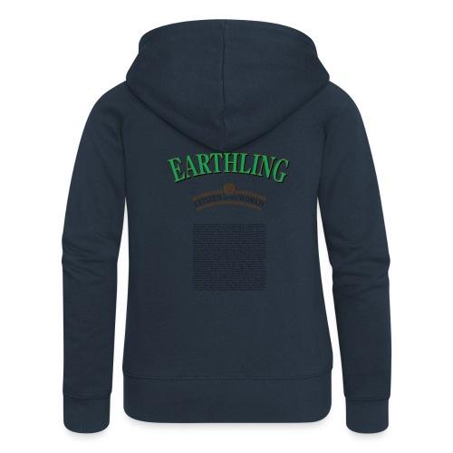earthling citizen of the World - PrimaVera Design - Premium luvjacka dam