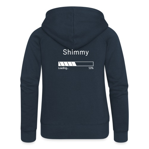 Shimmy Loading ... White - Women's Premium Hooded Jacket
