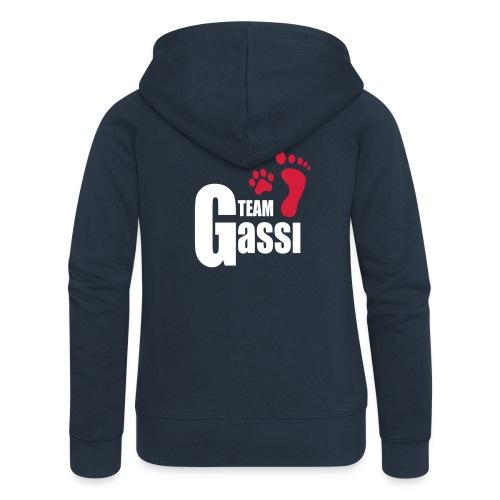 Vorschau: Team Gassi - Frauen Premium Kapuzenjacke