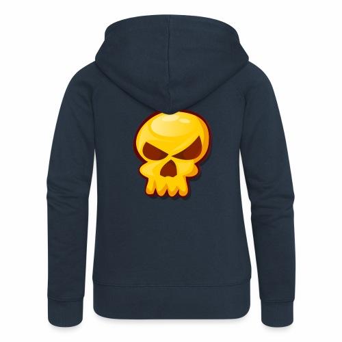 Golden Skull - Chaqueta con capucha premium mujer