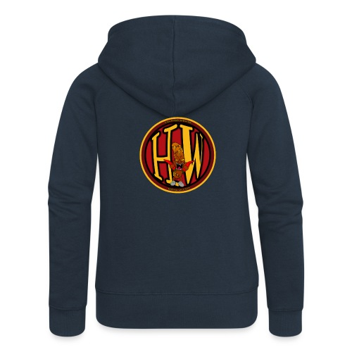 superhw stikker incl worst png - Women's Premium Hooded Jacket