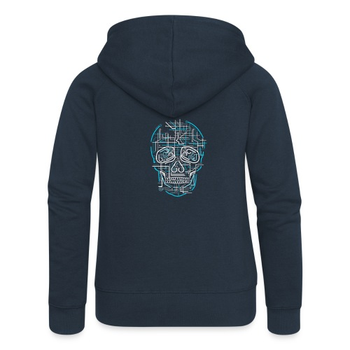 electric skull tshirt ✅ - Frauen Premium Kapuzenjacke