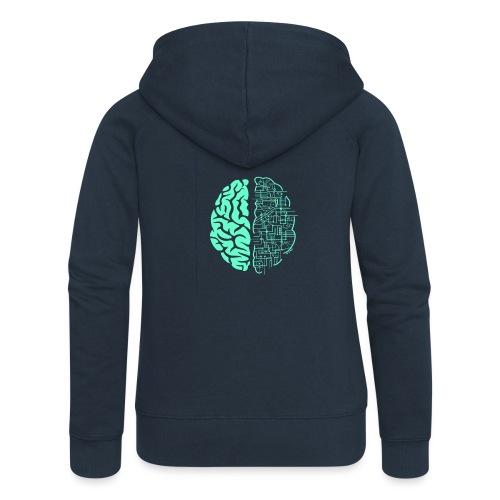 Künstliche Intelligenz t-shirt✅ - Frauen Premium Kapuzenjacke