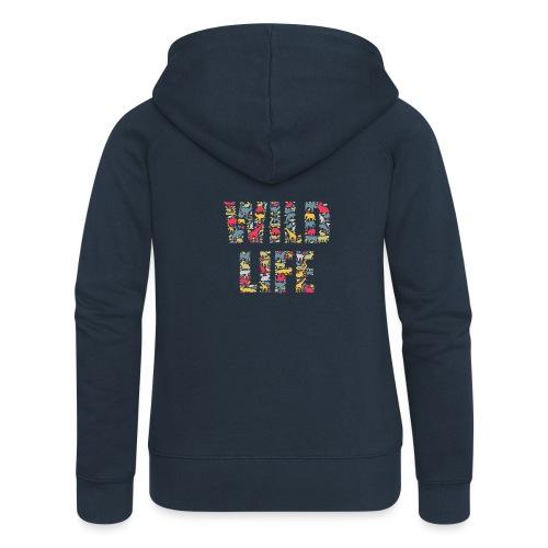 Wild Life - Frauen Premium Kapuzenjacke