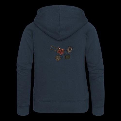 Music - Women's Premium Hooded Jacket