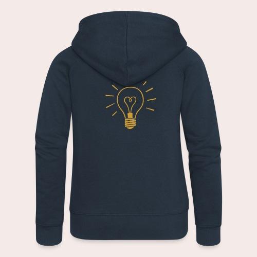 Bright Ideas - Frauen Premium Kapuzenjacke