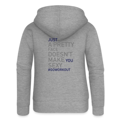 Just a pretty face... - Women's Premium Hooded Jacket