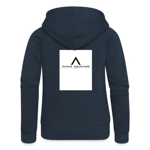 Invers Industries Full White - Women's Premium Hooded Jacket