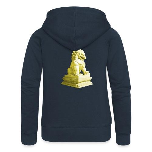 Fu Hund Tempelwächter Wächterlöwe Buddha China - Frauen Premium Kapuzenjacke