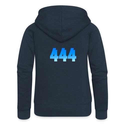 444 annonce que des Anges vous entourent. - Veste à capuche Premium Femme