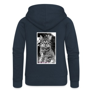 Tiger-Tom - Frauen Premium Kapuzenjacke