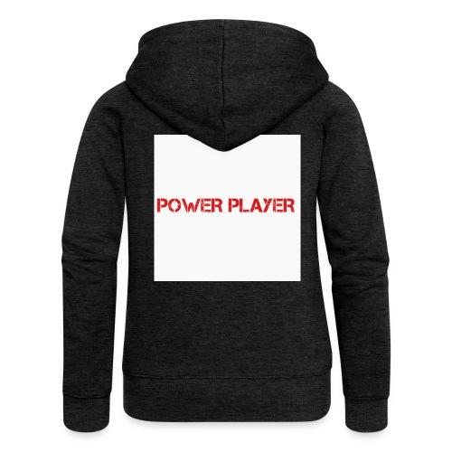 Linea power player - Felpa con zip premium da donna