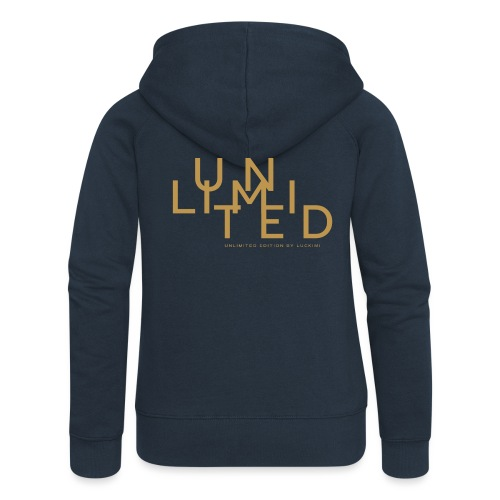 Unlimited gold - Women's Premium Hooded Jacket