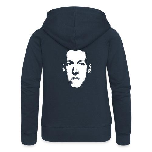 Lovecraft - Felpa con zip premium da donna