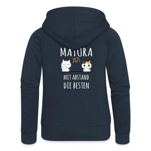 Matura 2021 Schule Corona Katze Shirt Geschenk - Frauen Premium Kapuzenjacke