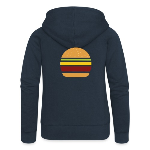 Logo Burger Panhamburger - Veste à capuche Premium Femme