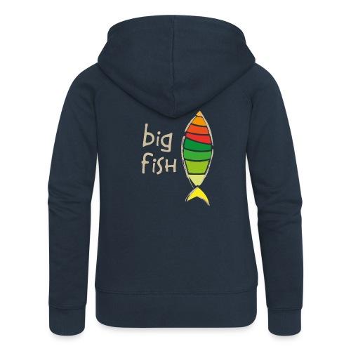 Big Fish Gold - Chaqueta con capucha premium mujer