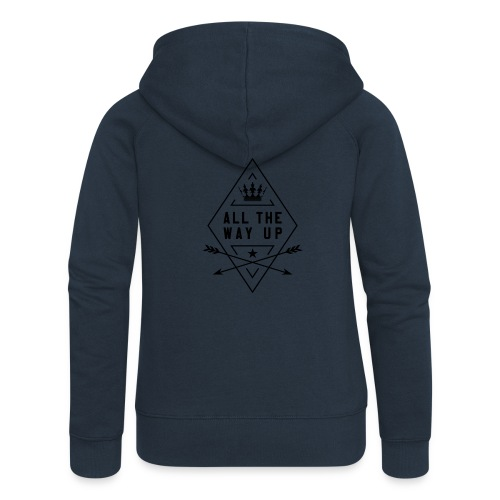 atwu_black - Women's Premium Hooded Jacket
