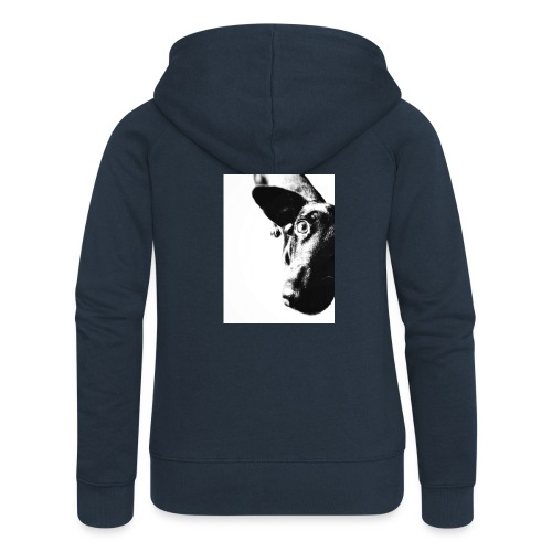 Jednooki - Rozpinana bluza damska z kapturem Premium