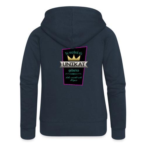 Unikat - Frauen Premium Kapuzenjacke