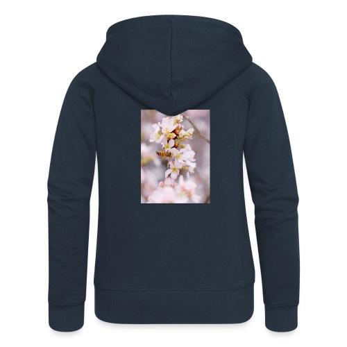 Schöne Biene 1 - Frauen Premium Kapuzenjacke