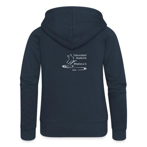 EARheine Logo weiss - Frauen Premium Kapuzenjacke