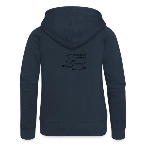 EARheine Logo schwarz - Frauen Premium Kapuzenjacke