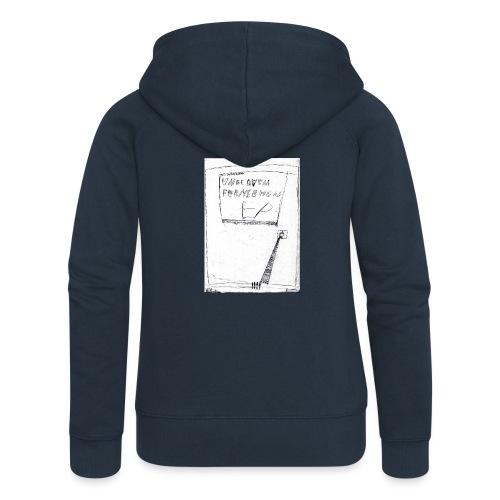 unbequem fernsehen - Women's Premium Hooded Jacket