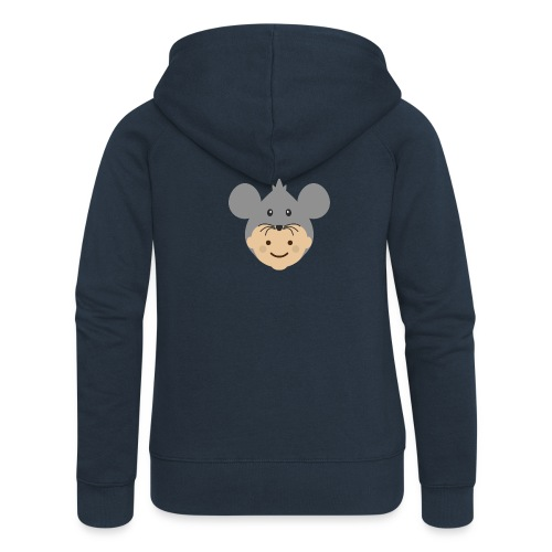 Mr Mousey | Ibbleobble - Women's Premium Hooded Jacket
