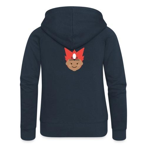 Florence the Fox | Ibbleobble - Women's Premium Hooded Jacket
