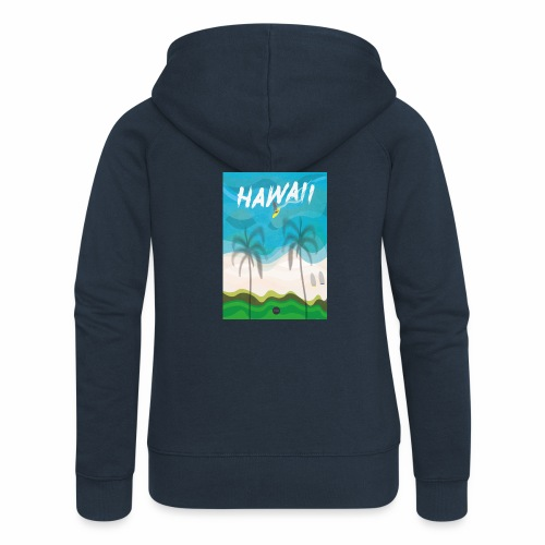 Hawaii - Women's Premium Hooded Jacket