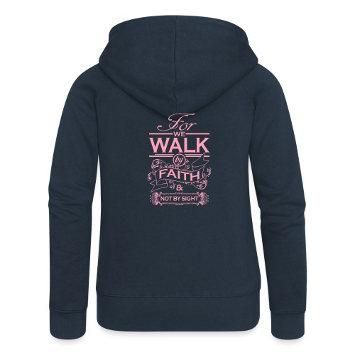 walk pink - Women's Premium Hooded Jacket