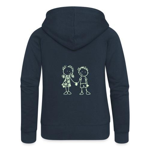 logo_Arbon_klein - Frauen Premium Kapuzenjacke