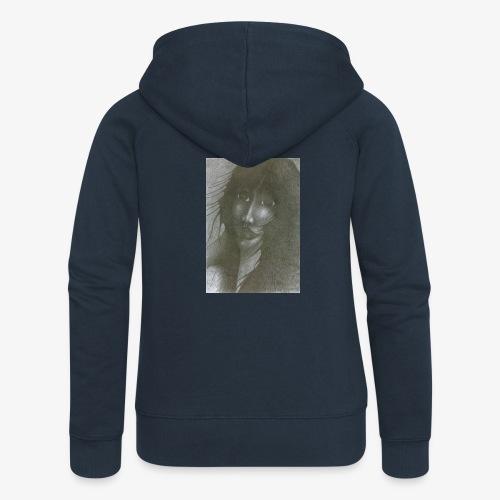 I Fear - Rozpinana bluza damska z kapturem Premium