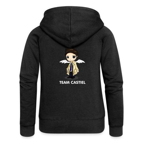 Team Castiel (dark) - Women's Premium Hooded Jacket