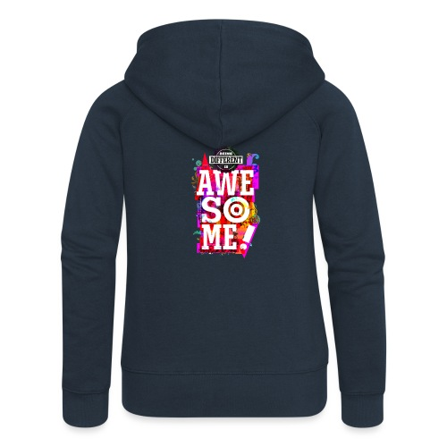 Different = Awesome - Women's Premium Hooded Jacket