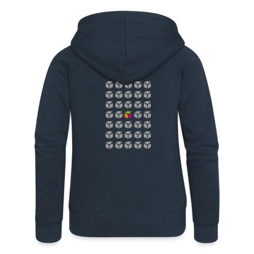 grid semantic web - Women's Premium Hooded Jacket