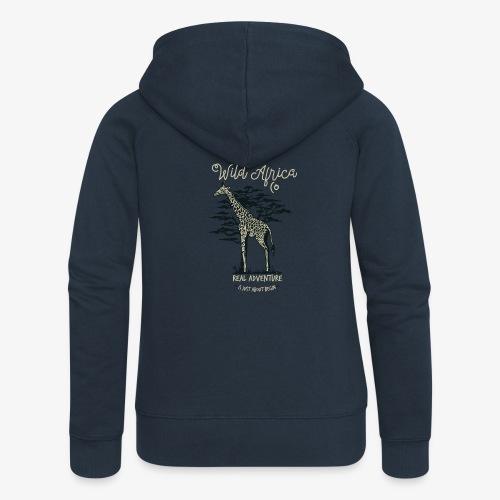 Giraffe - Frauen Premium Kapuzenjacke