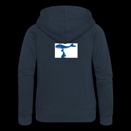 whale t - Women's Premium Hooded Jacket