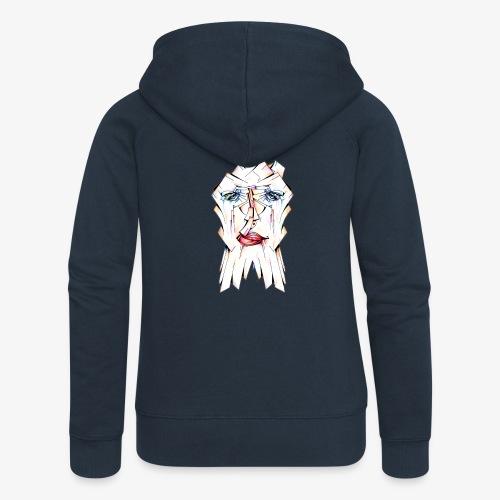 Pokerface - Women's Premium Hooded Jacket